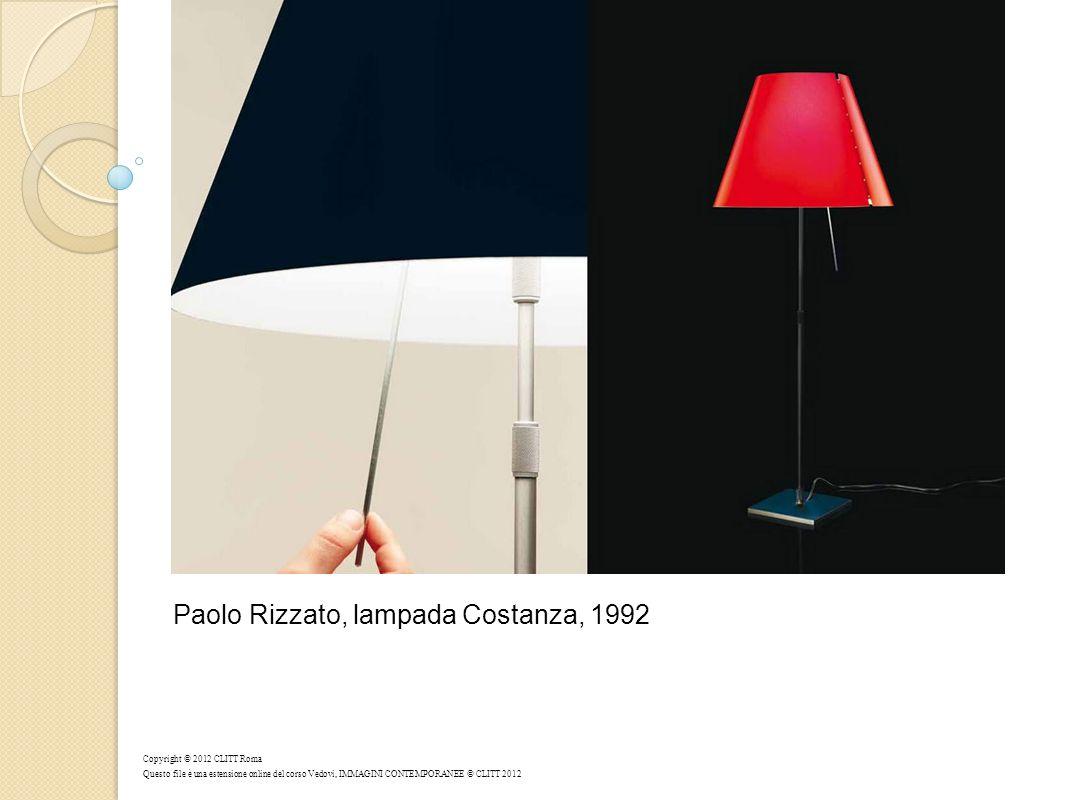 Paolo Rizzato, lampada Costanza, 1992