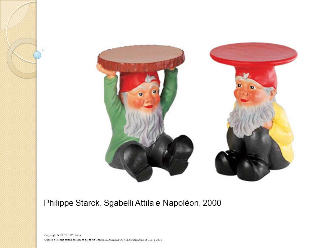 Philippe Starck, Sgabelli Attila e Napoléon, 2000