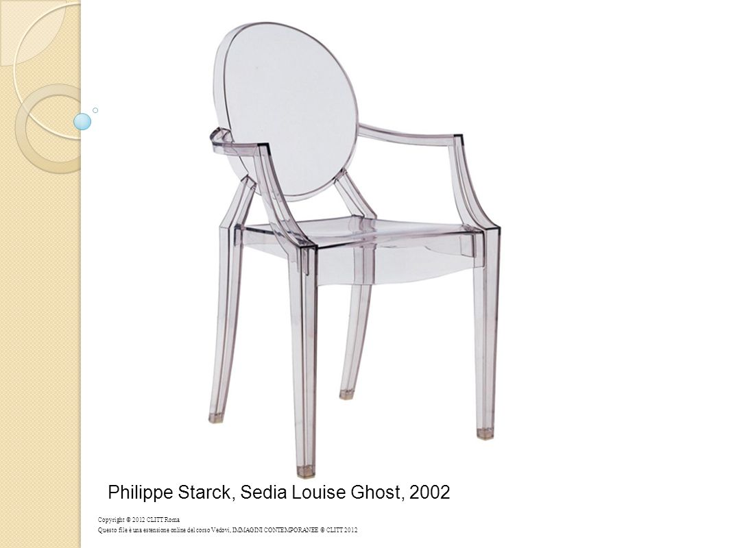 Philippe Starck, Sedia Louise Ghost, 2002