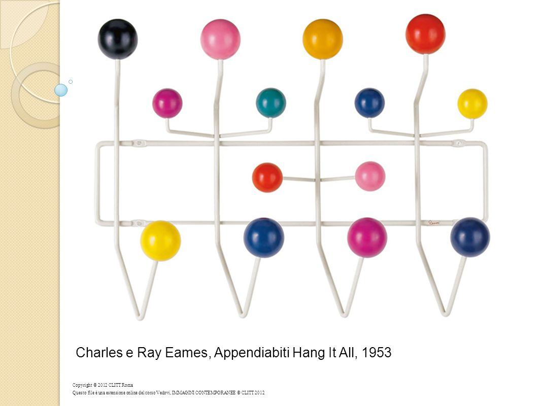 Charles e Ray Eames, Appendiabiti Hang It All, 1953