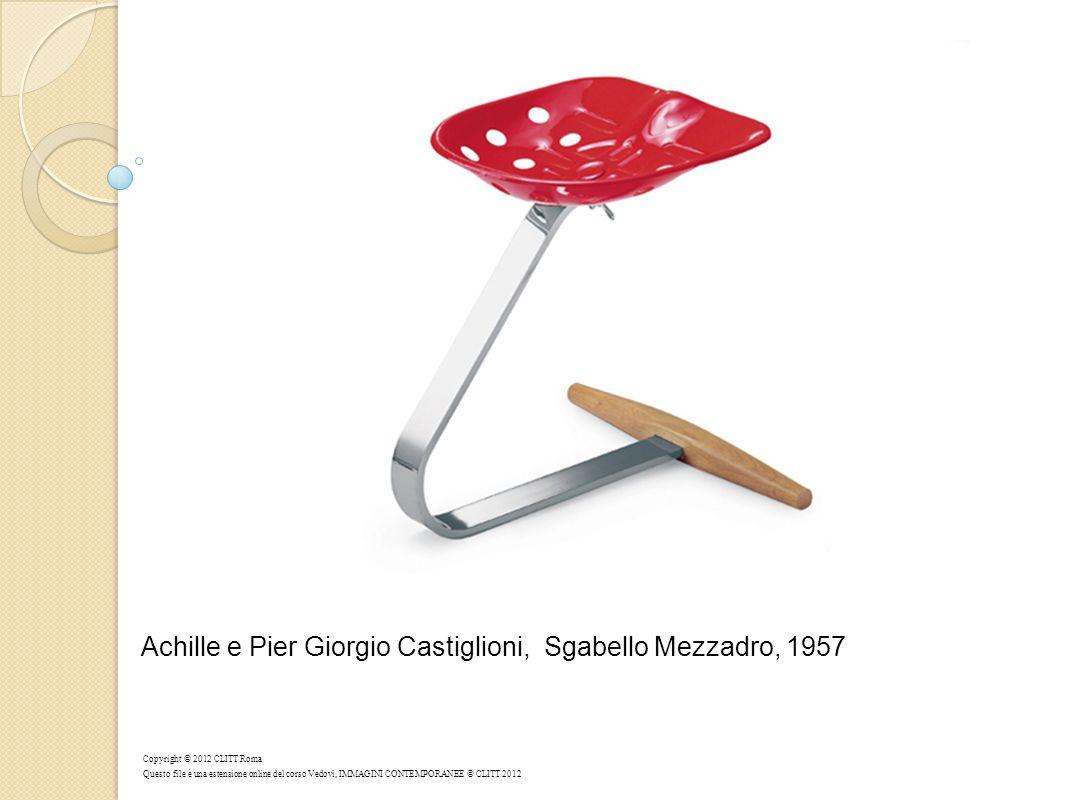 Achille e Pier Giorgio Castiglioni, Sgabello Mezzadro, 1957