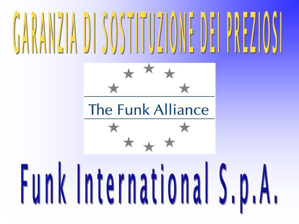 GARANZIA DI SOSTITUZIONE DEI PREZIOSI Funk International S.p.A.