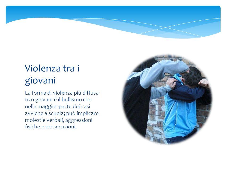 Violenza tra i giovani