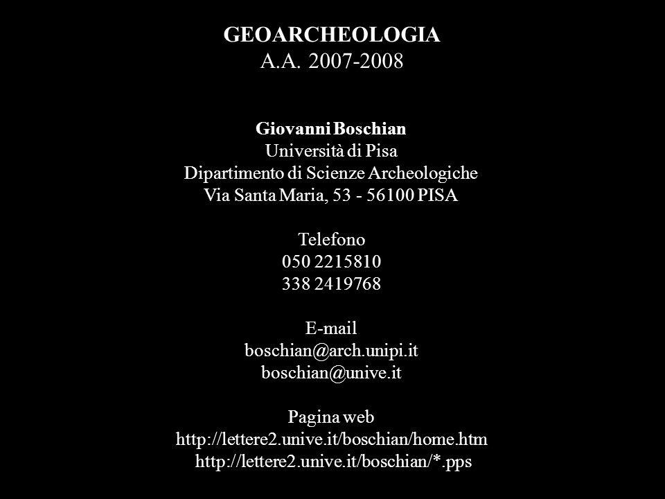 Dipartimento di Scienze Archeologiche