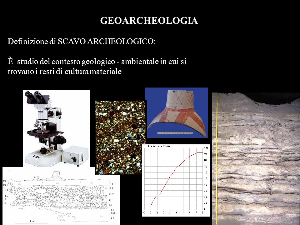 GEOARCHEOLOGIA Definizione di SCAVO ARCHEOLOGICO: