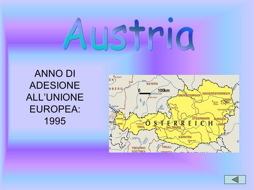 ANNO DI ADESIONE ALL'UNIONE EUROPEA: 1995