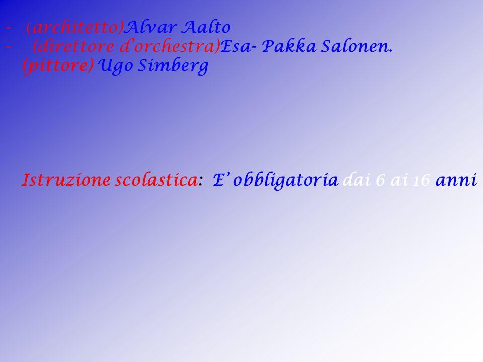 - (architetto)Alvar Aalto