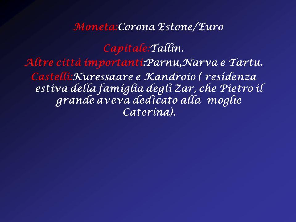 Moneta:Corona Estone/Euro