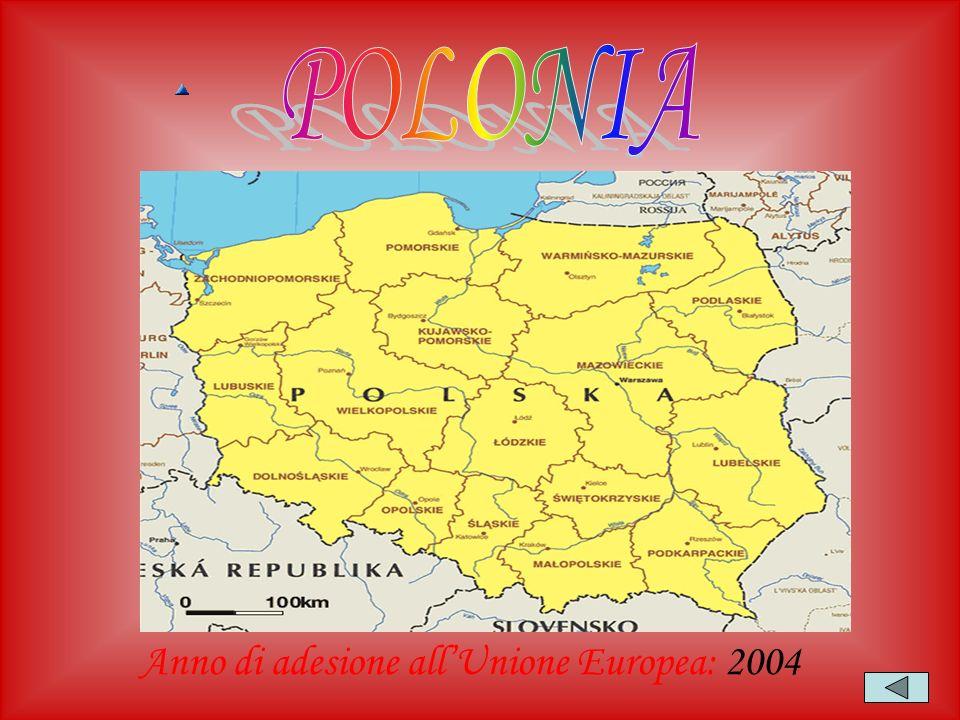 Anno di adesione all'Unione Europea: 2004