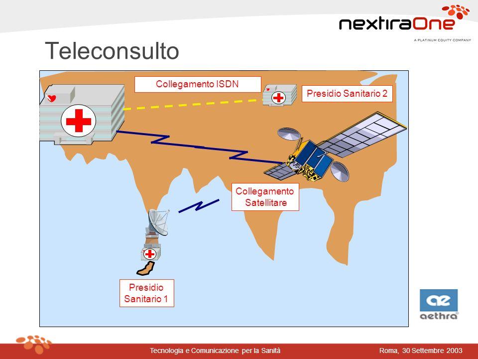 Teleconsulto Collegamento ISDN Presidio Sanitario 2 Collegamento