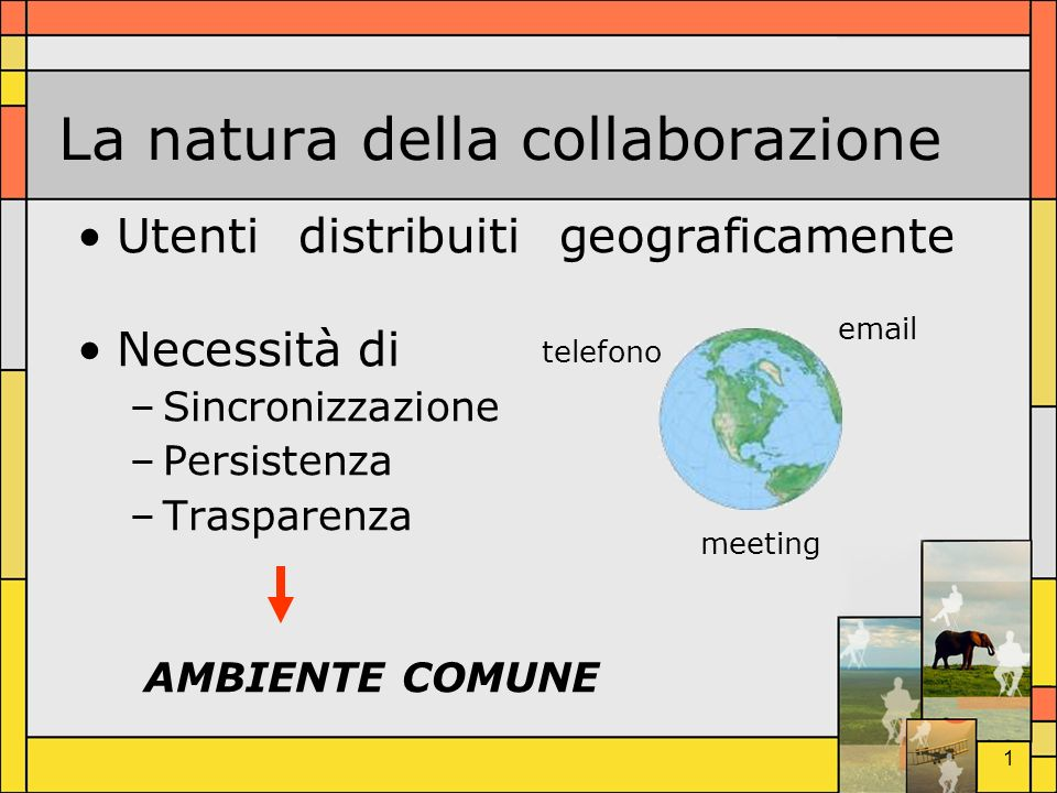 La natura della collaborazione