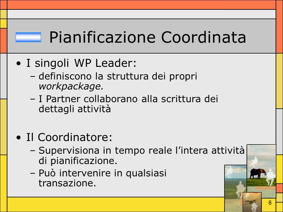 Pianificazione Coordinata