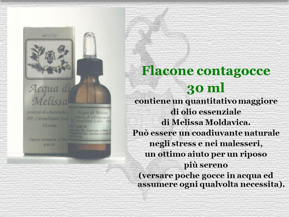 Flacone contagocce 30 ml contiene un quantitativo maggiore