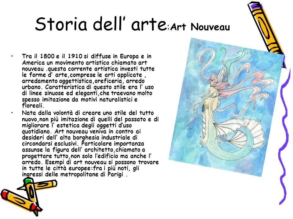 Storia dell' arte:Art Nouveau