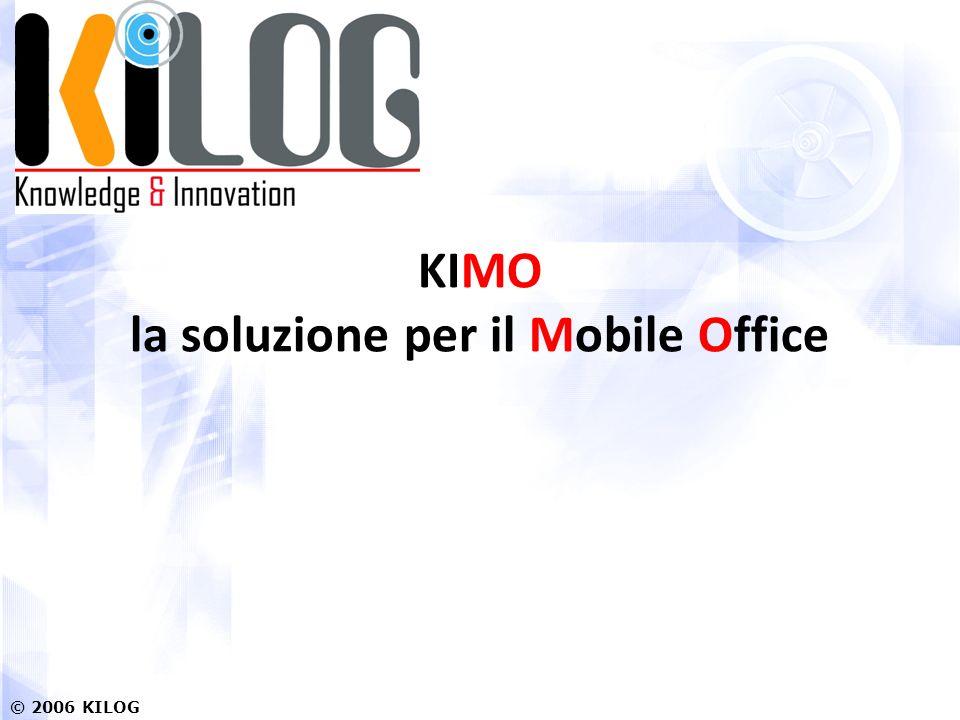 KIMO la soluzione per il Mobile Office