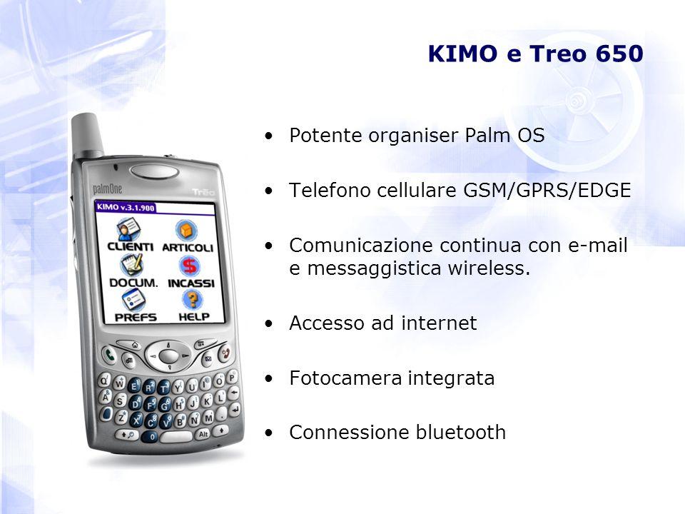KIMO e Treo 650 Potente organiser Palm OS