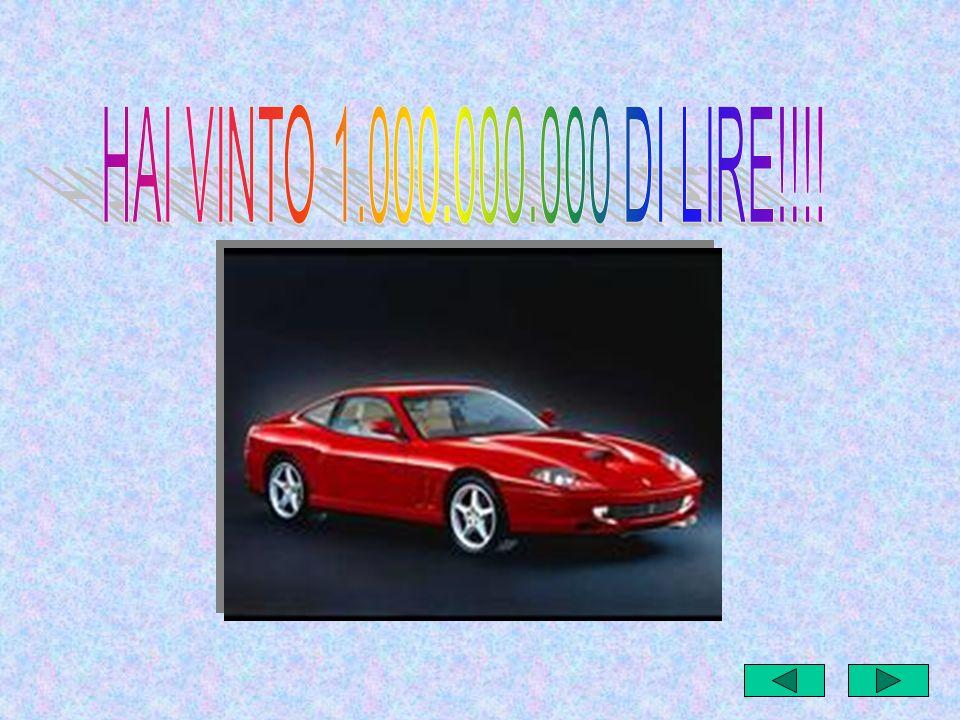 HAI VINTO 1.000.000.000 DI LIRE!!!!