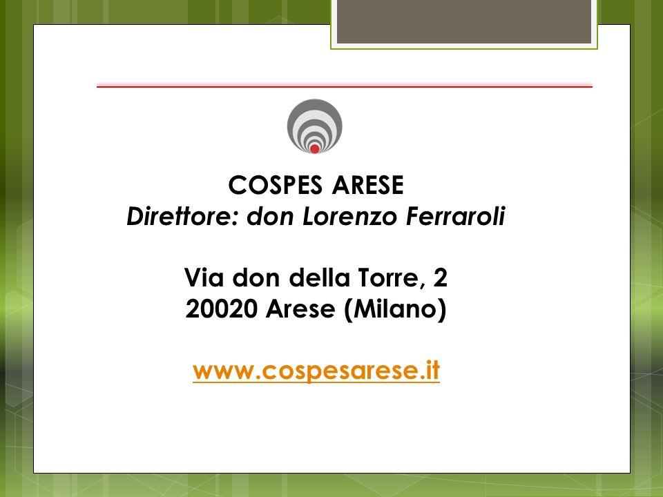 Direttore: don Lorenzo Ferraroli