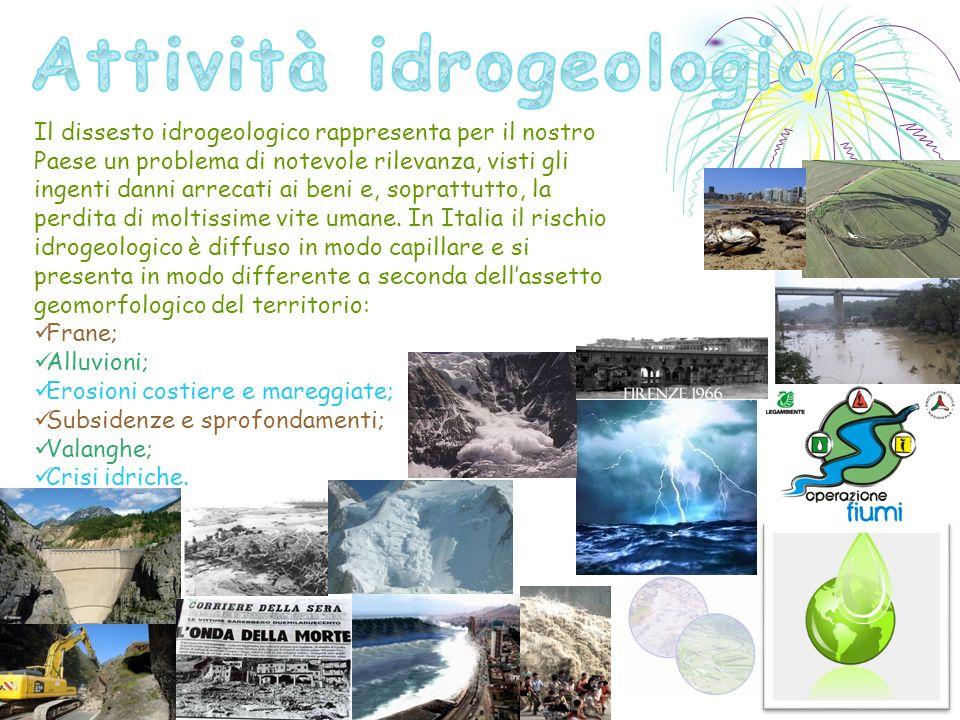 Attività idrogeologica