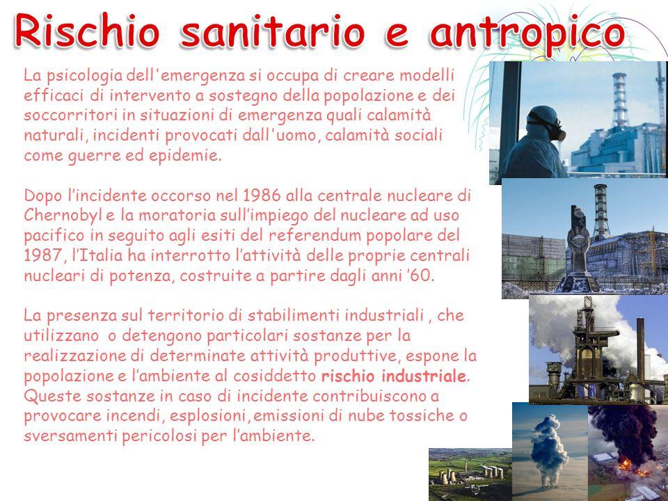 Rischio sanitario e antropico