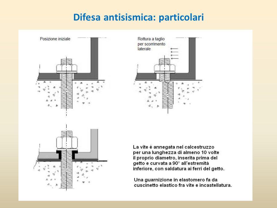 Difesa antisismica: particolari