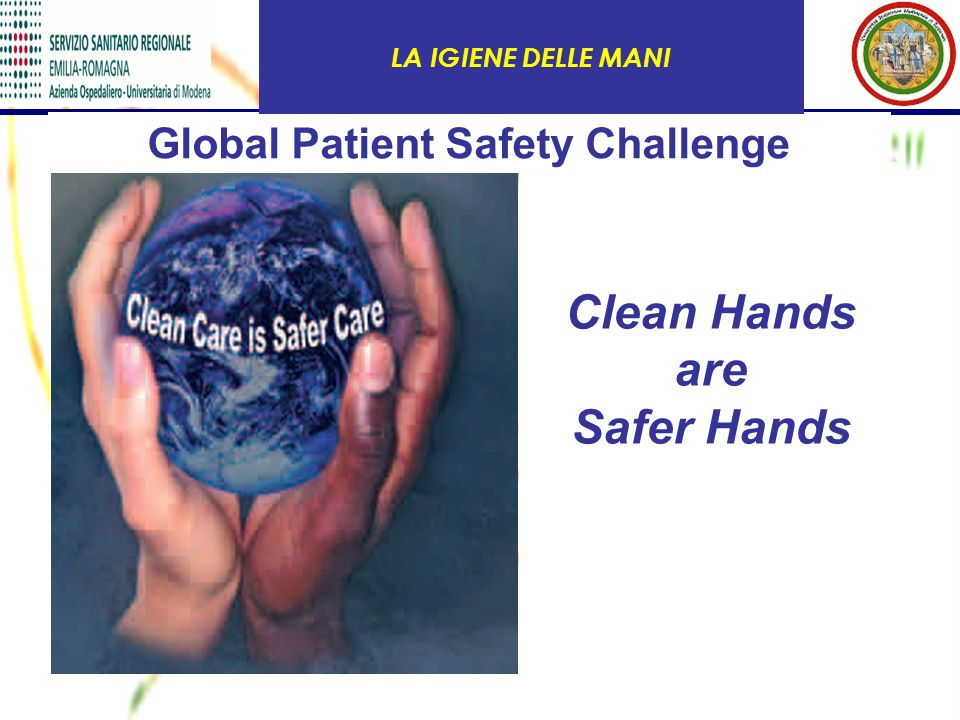 Global Patient Safety Challenge