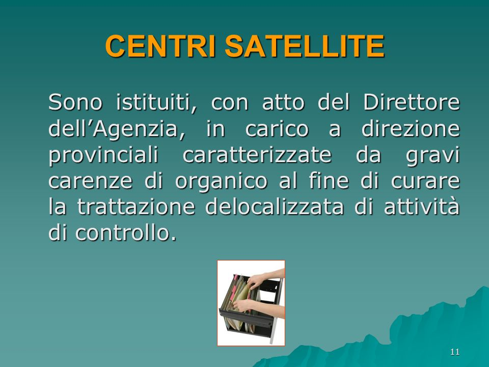 CENTRI SATELLITE