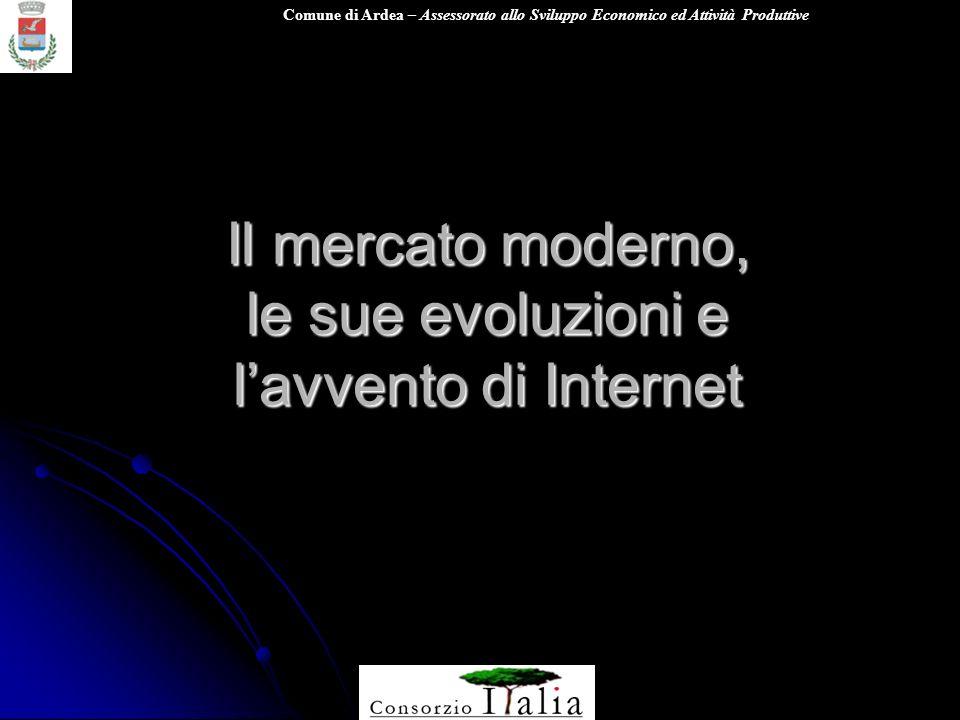 Il mercato moderno, le sue evoluzioni e l'avvento di Internet