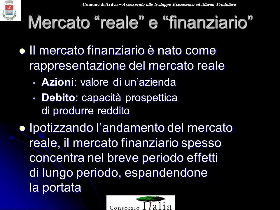 Mercato reale e finanziario
