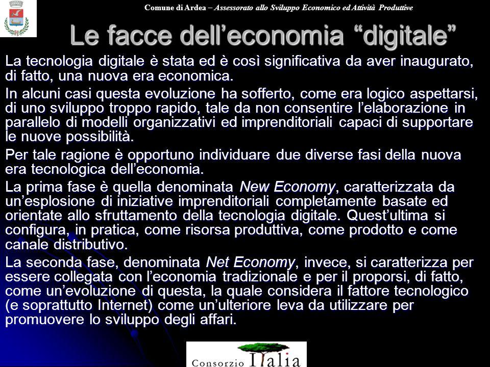 Le facce dell'economia digitale