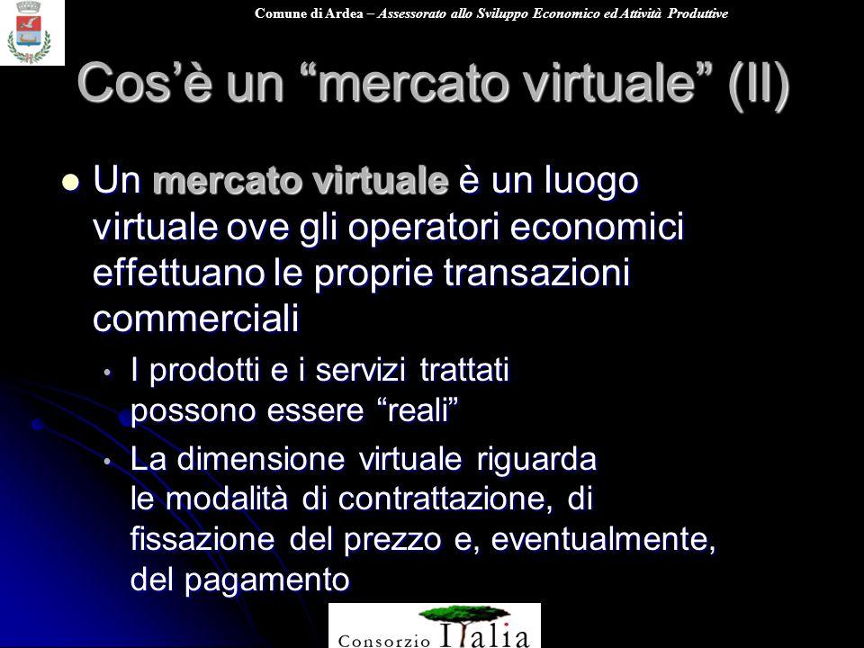 Cos'è un mercato virtuale (II)
