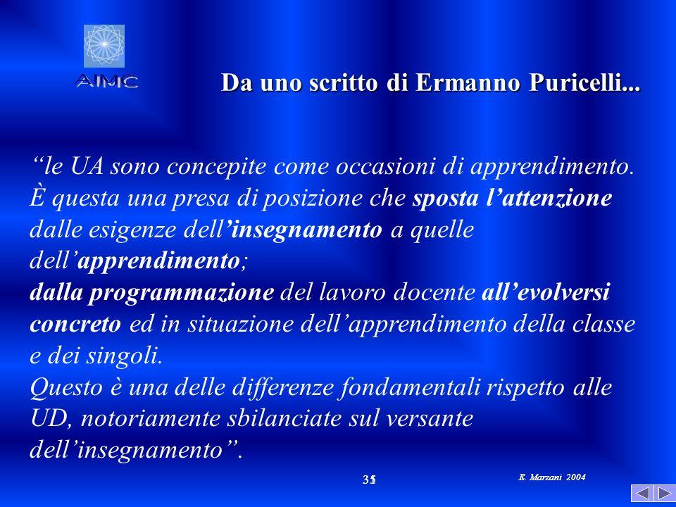 Da uno scritto di Ermanno Puricelli...