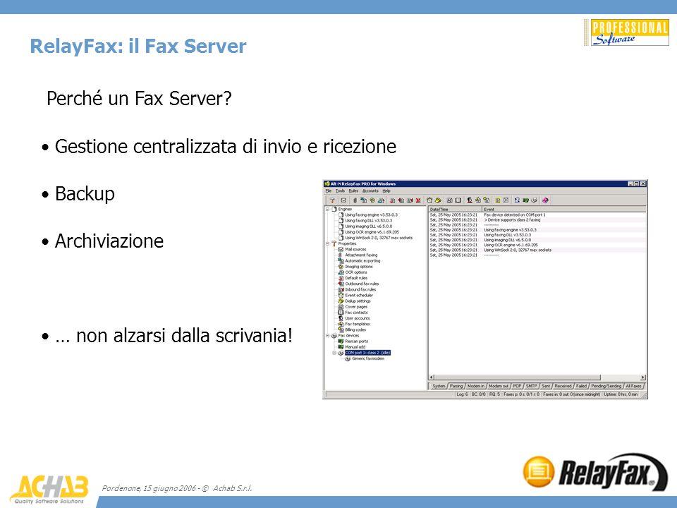 RelayFax: il Fax Server