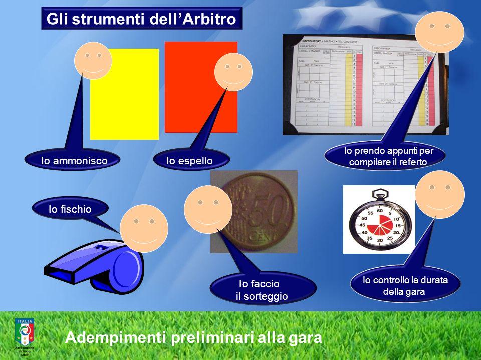 Gli strumenti dell'Arbitro