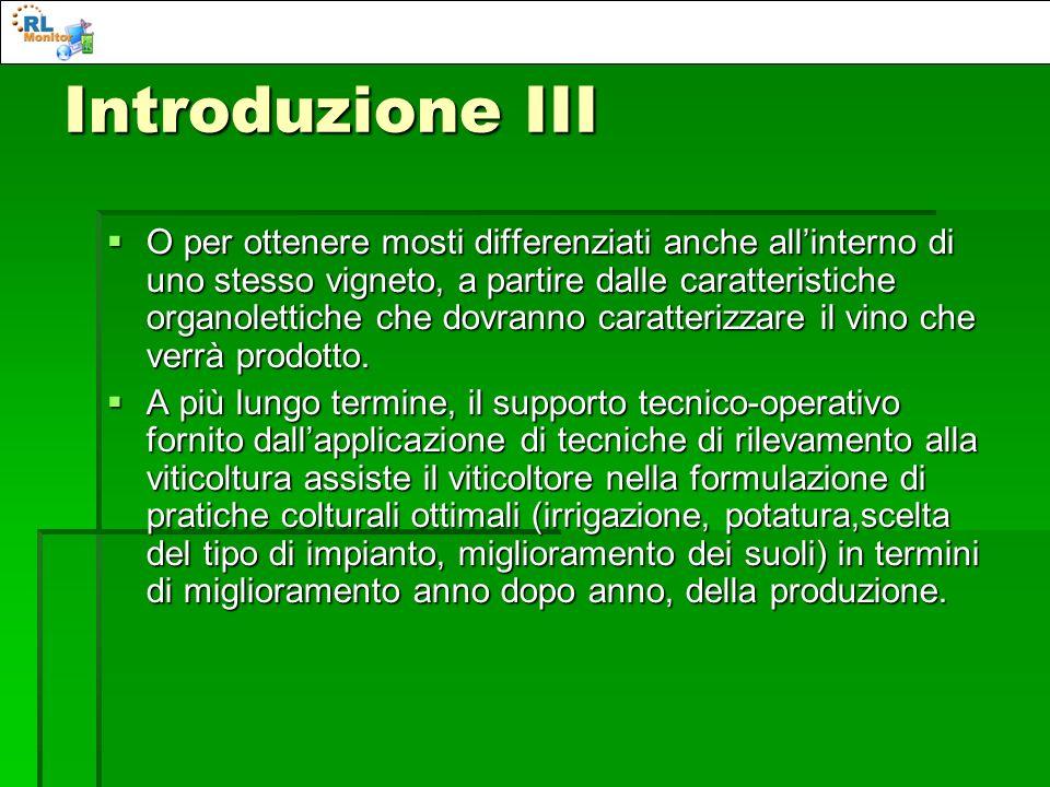 Introduzione III