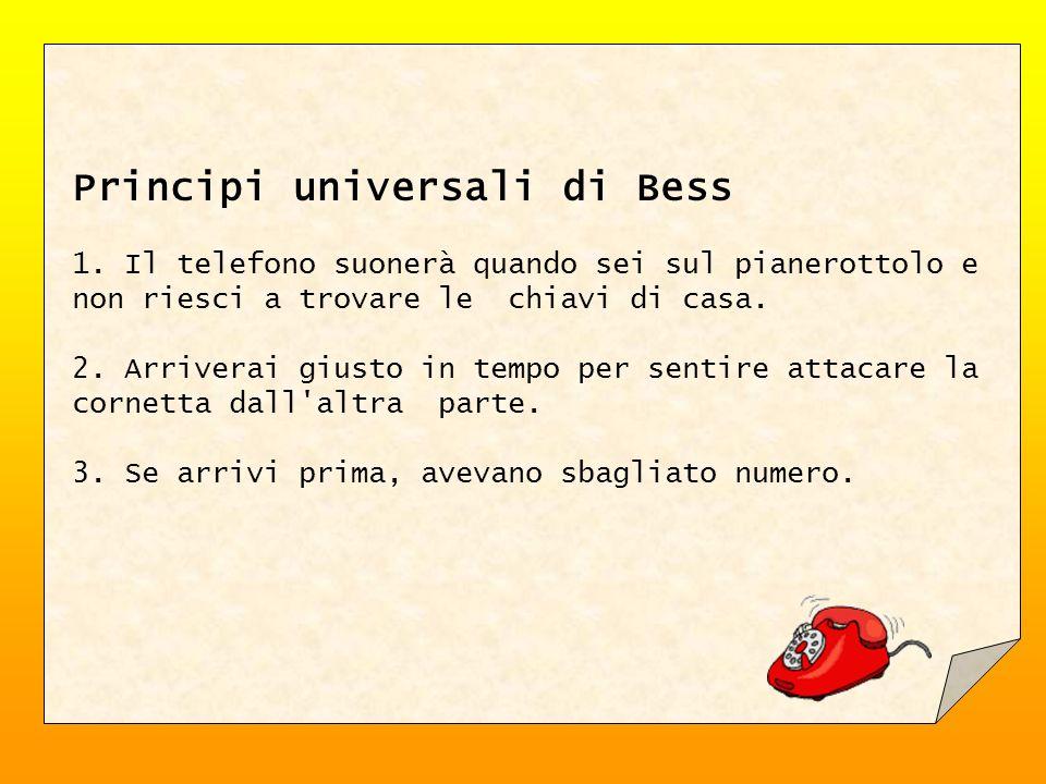 Principi universali di Bess