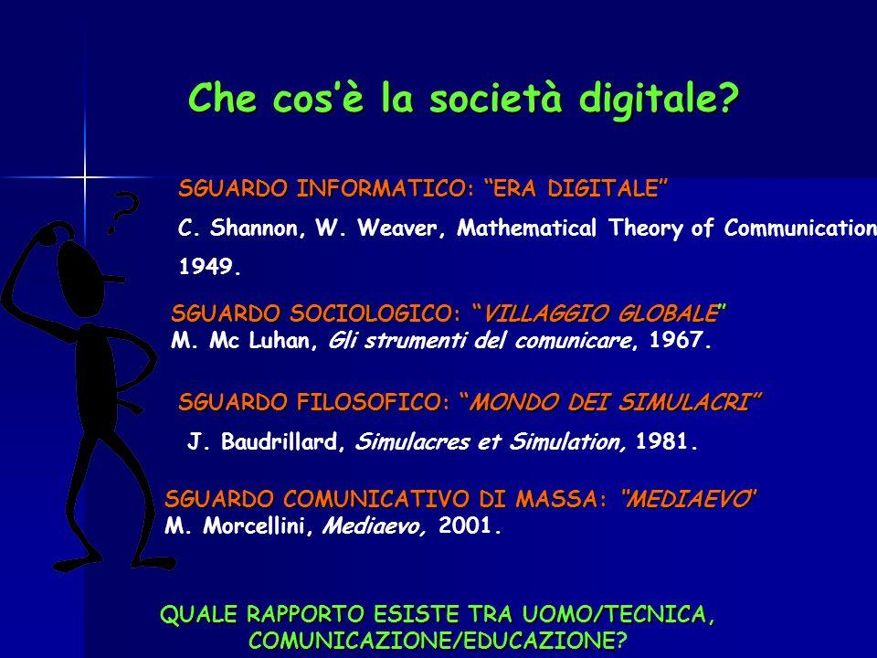 Che cos'è la società digitale