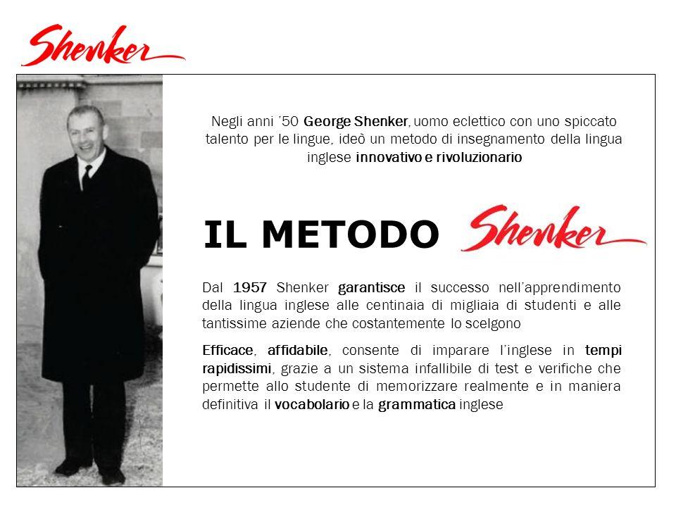 Negli anni '50 George Shenker, uomo eclettico con uno spiccato talento per le lingue, ideò un metodo di insegnamento della lingua inglese innovativo e rivoluzionario