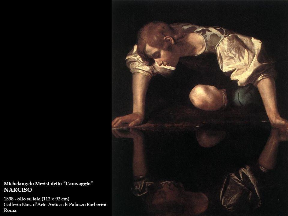 NARCISO Michelangelo Merisi detto Caravaggio