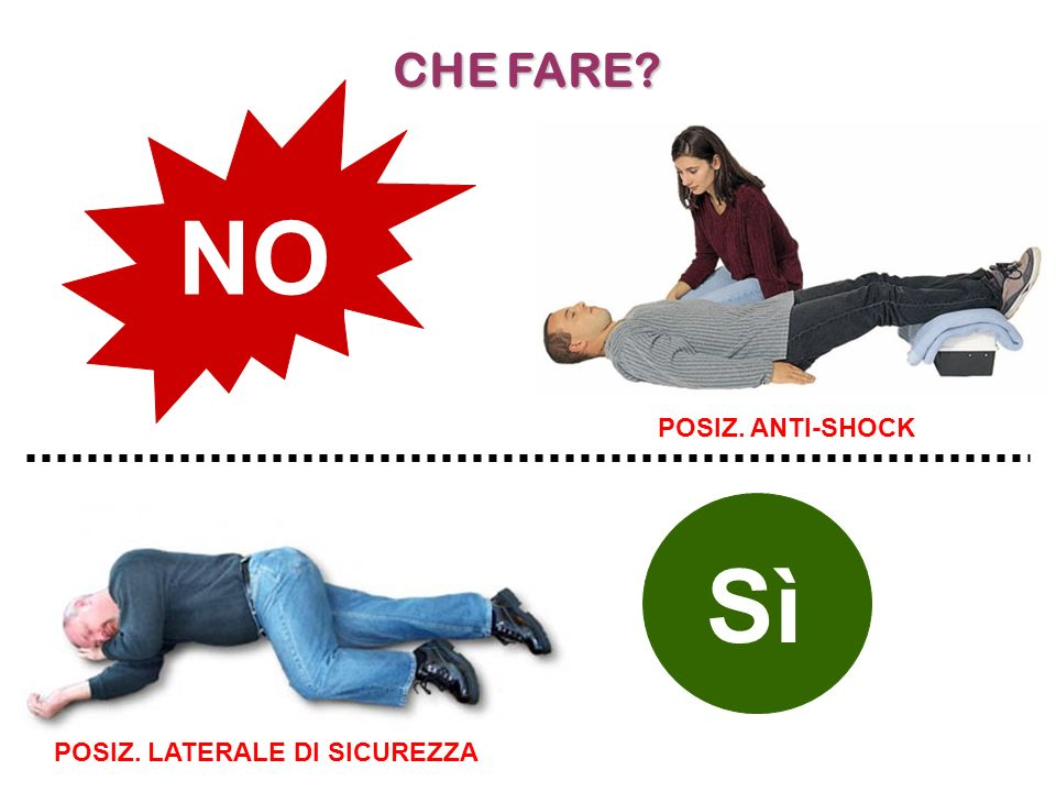POSIZ. LATERALE DI SICUREZZA