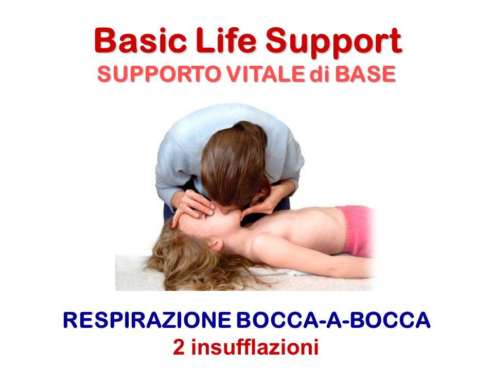 SUPPORTO VITALE di BASE RESPIRAZIONE BOCCA-A-BOCCA