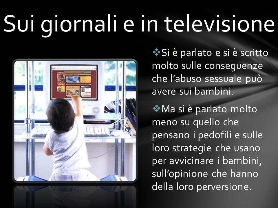Sui giornali e in televisione