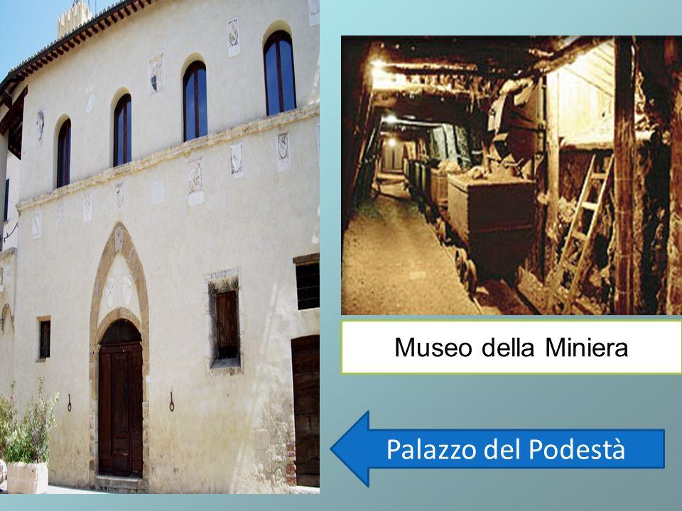 Museo della Miniera Palazzo del Podestà