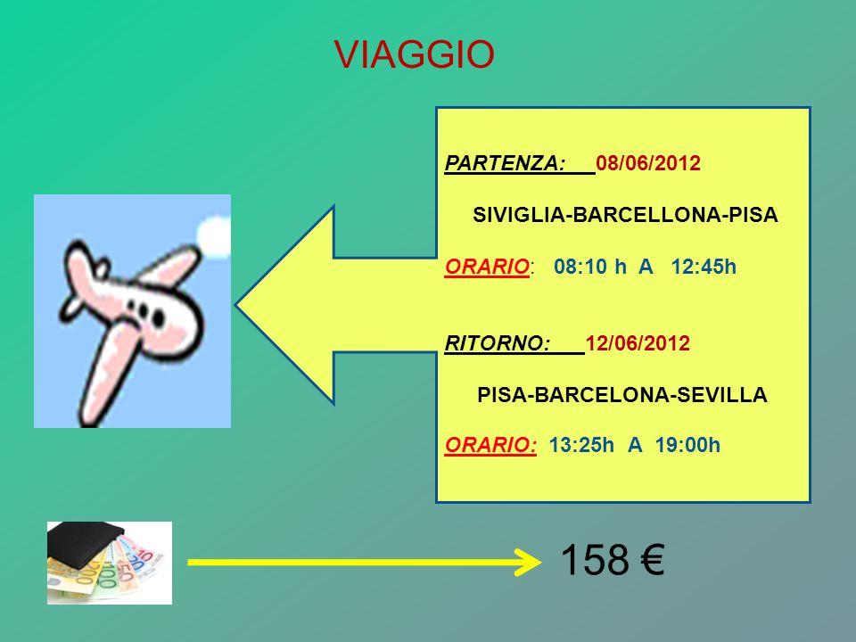 PISA-BARCELONA-SEVILLA