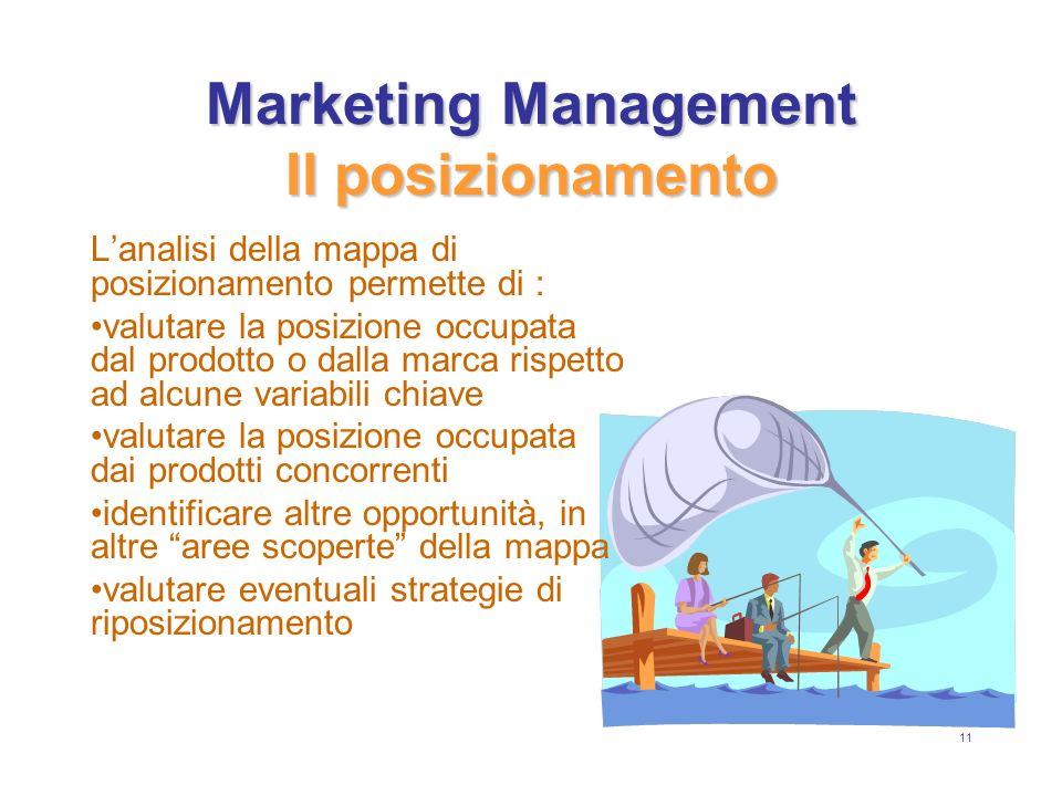 Marketing Management Il posizionamento