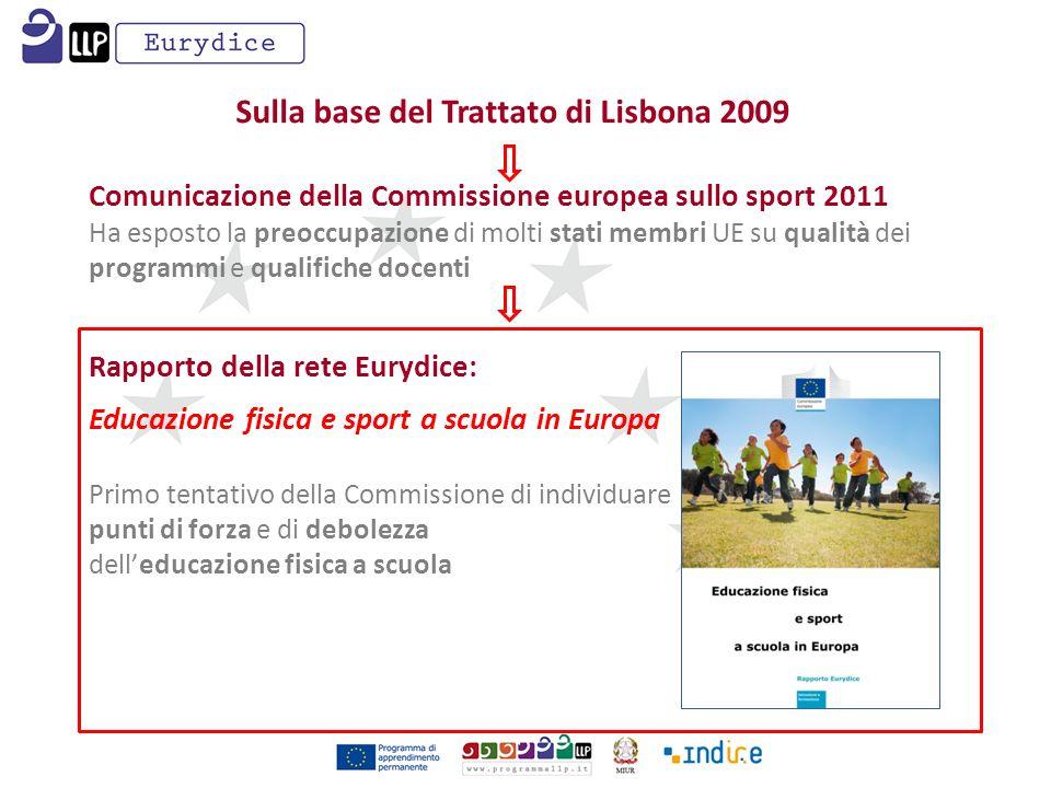 Sulla base del Trattato di Lisbona 2009
