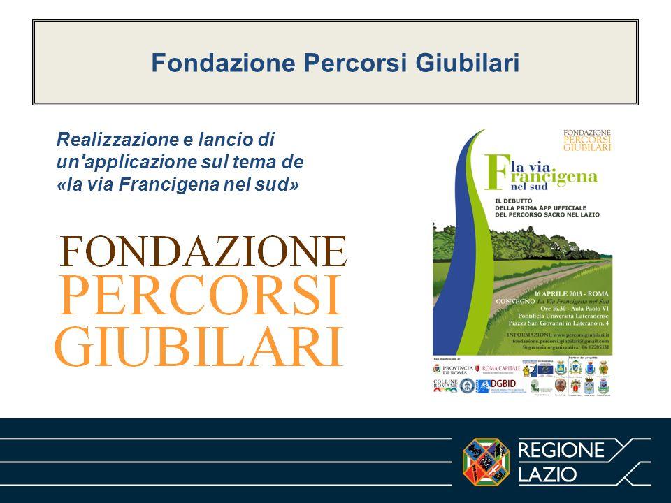 Fondazione Percorsi Giubilari