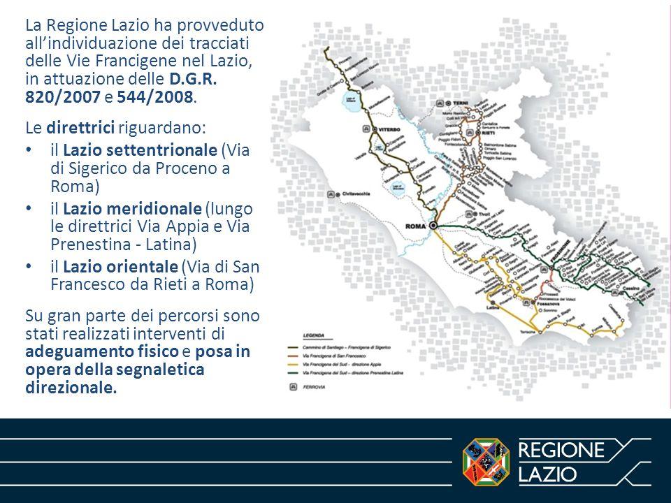 Norme e programmazione della Regione Lazio