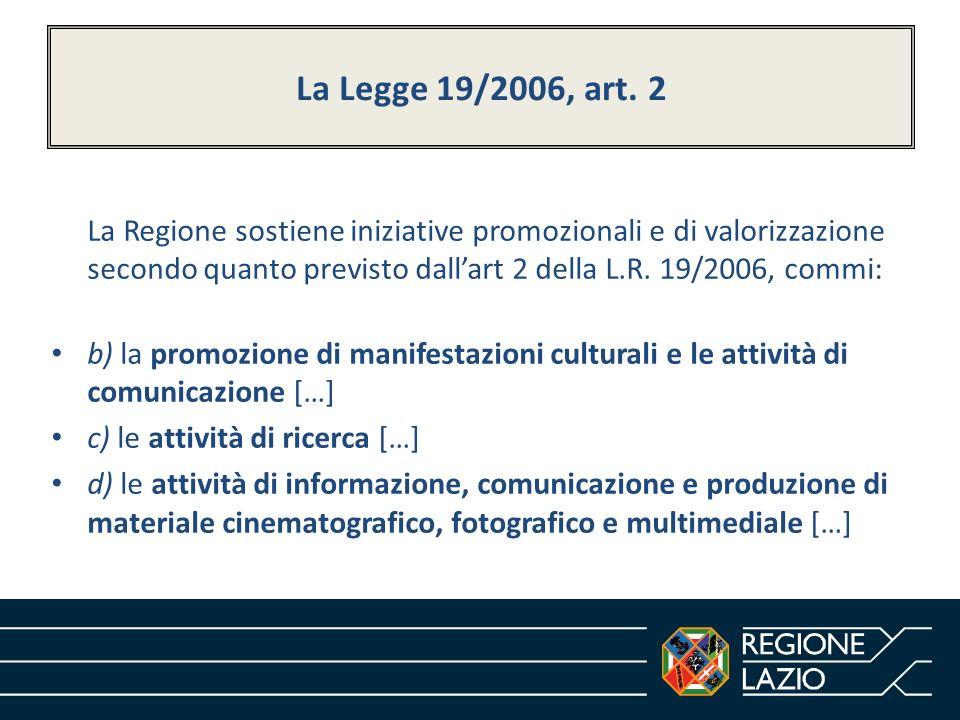 La Legge 19/2006, art. 2