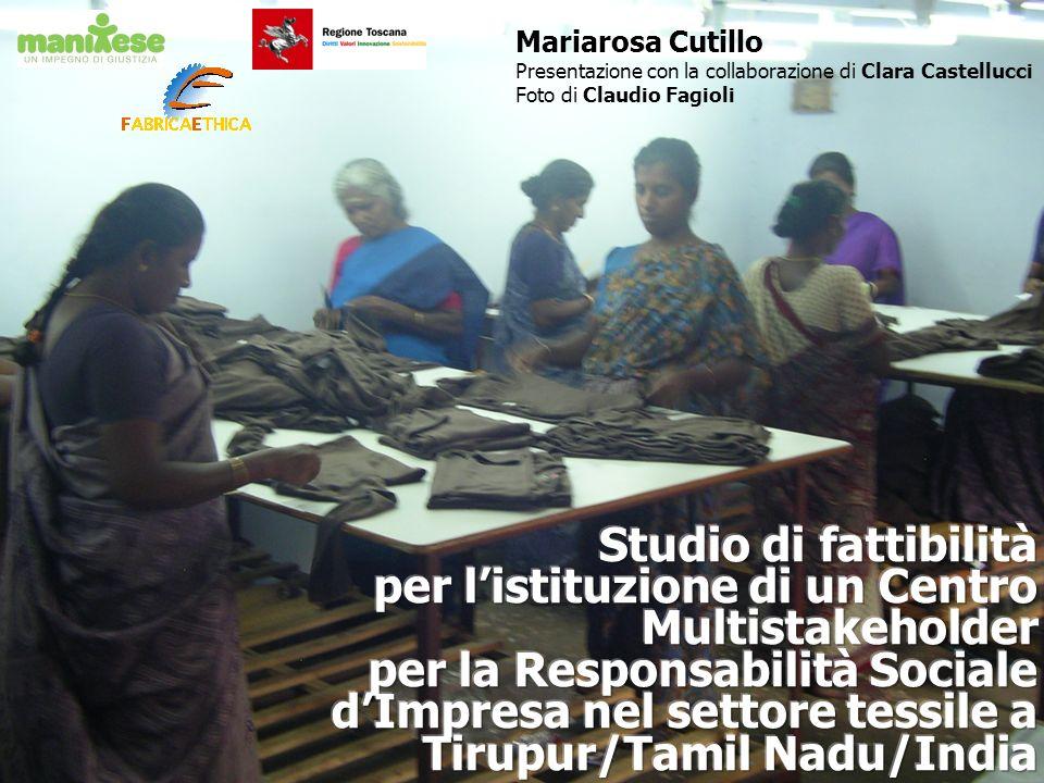 Mariarosa Cutillo Presentazione con la collaborazione di Clara Castellucci